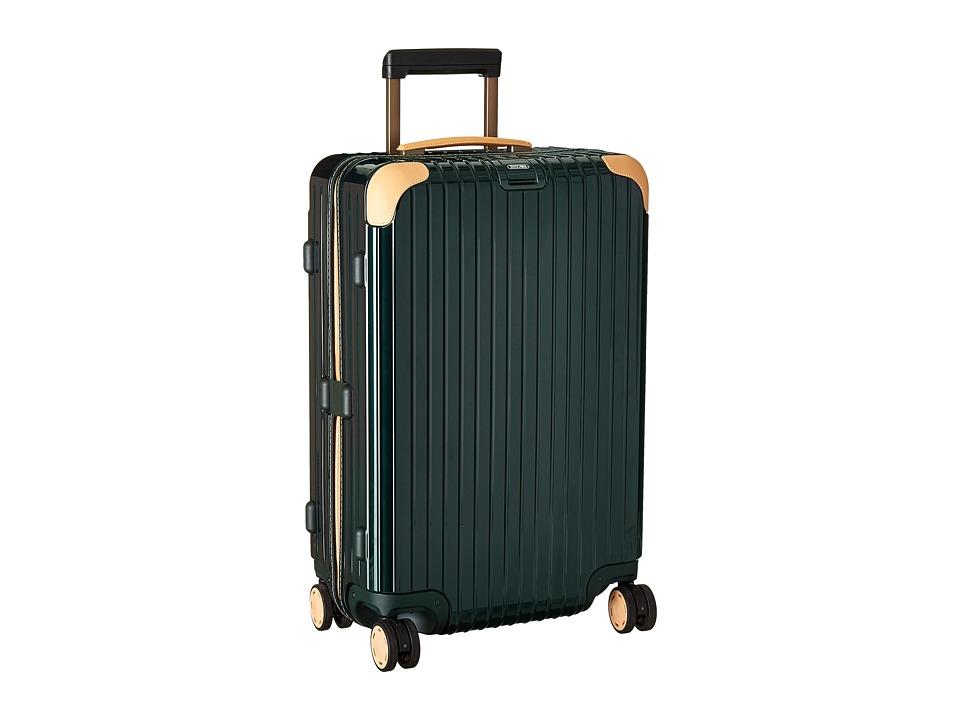 Rimowa Bossa Nova 26 Mutliwheel Green/Beige Suiter Luggage