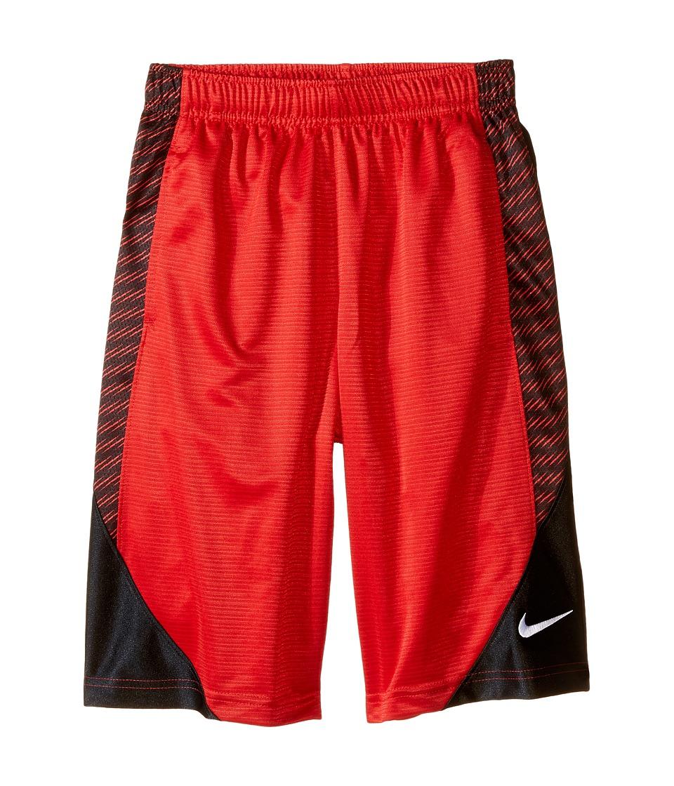 Nike Kids Avalanche Aop6 Shorts Little Kids/Big Kids University Red/Black/Black/White Boys Shorts