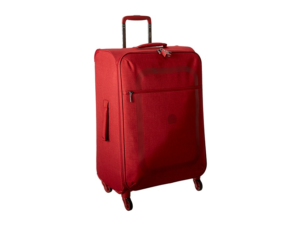 Delsey Dauphine 23 Spinner Trolley (Red) Luggage