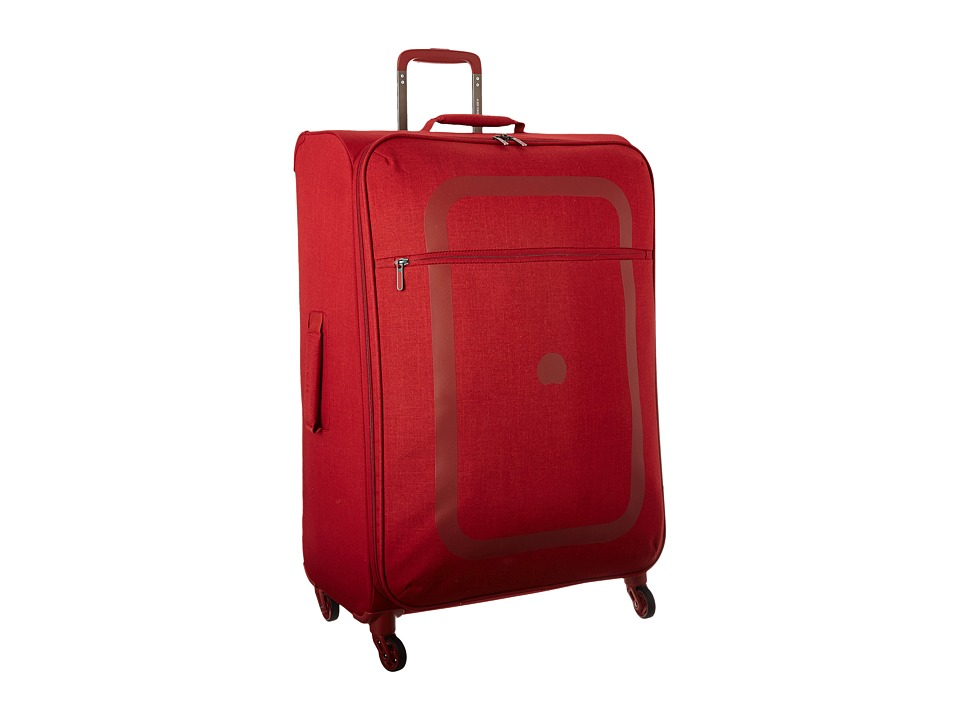 Delsey Dauphine 27.5 Spinner Trolley (Red) Luggage