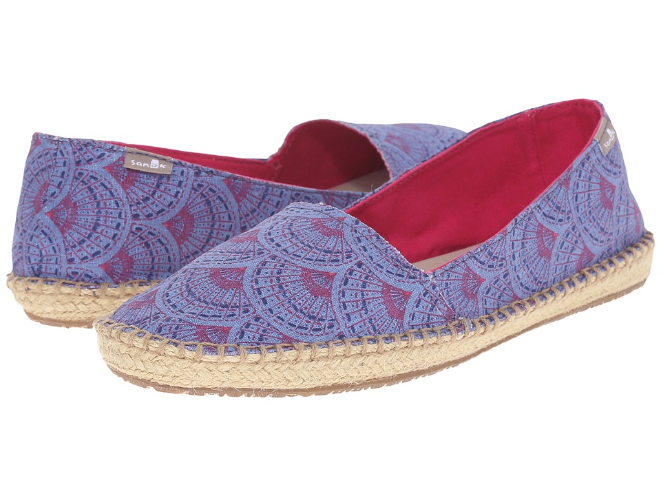 Sanuk Natal Iris Sunrise Womens Flat Shoes