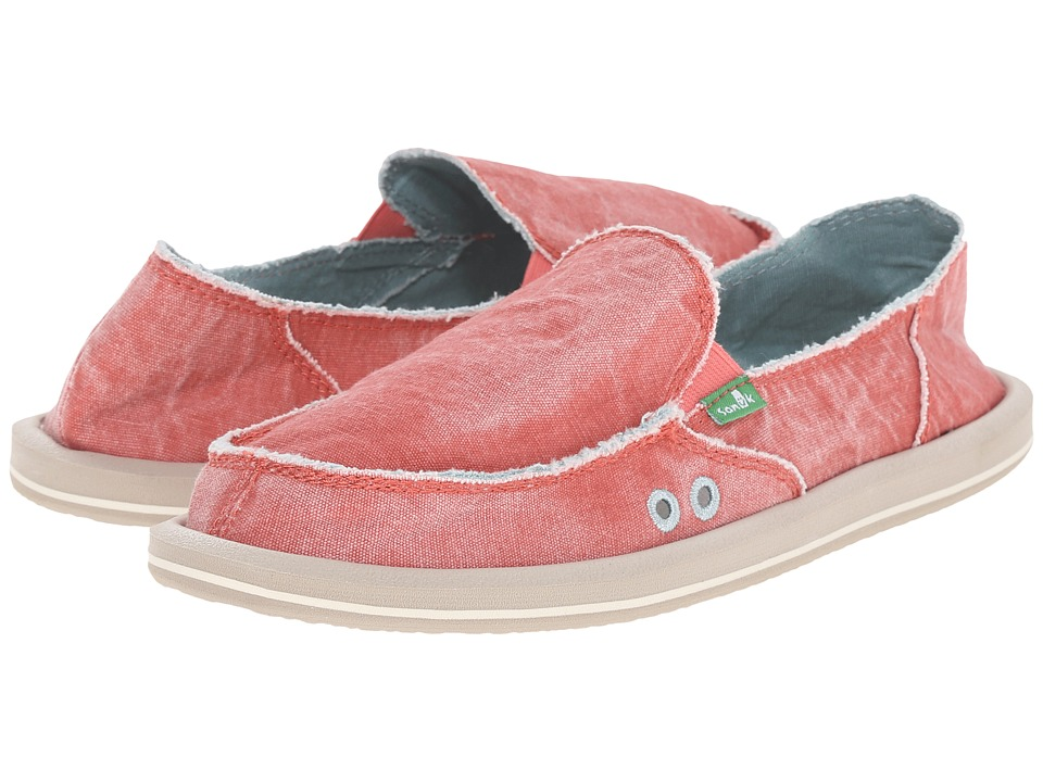 Sanuk - Donna Distressed (Spiced Coral) Women