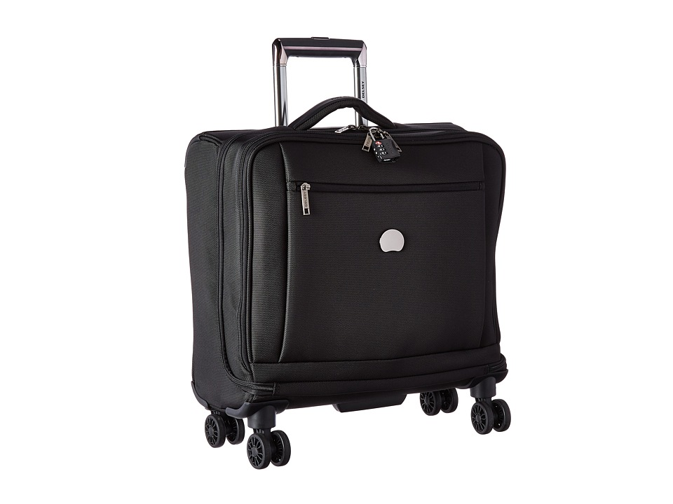 Delsey Montmartre Spinner Trolley Tote (Black) Luggage