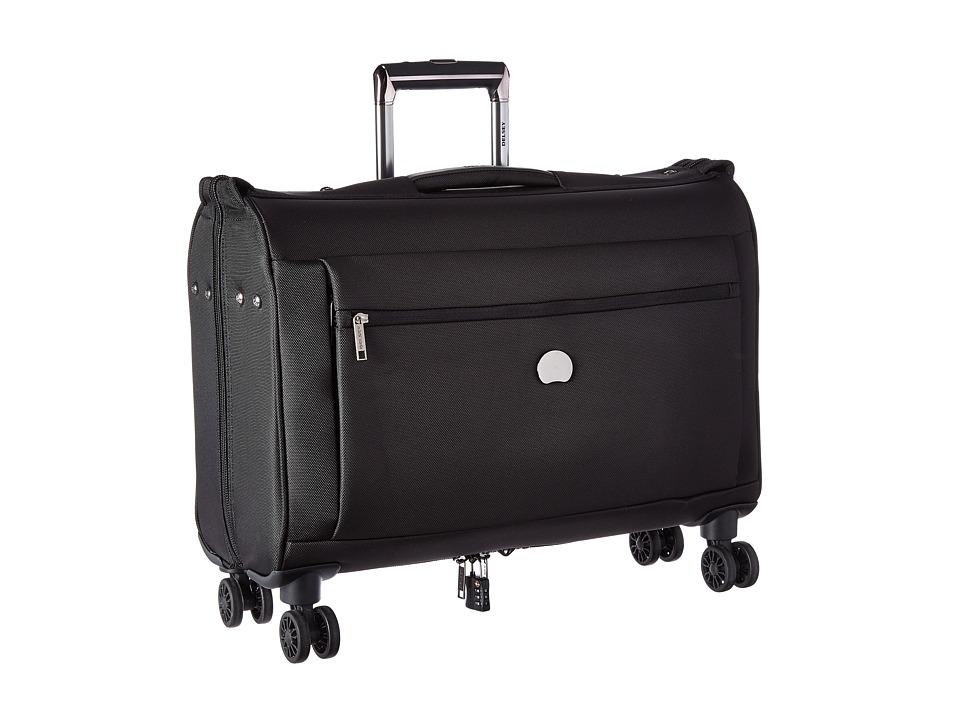 Delsey Montmartre Carry On Spinner Trolley Garment Bag Black Luggage