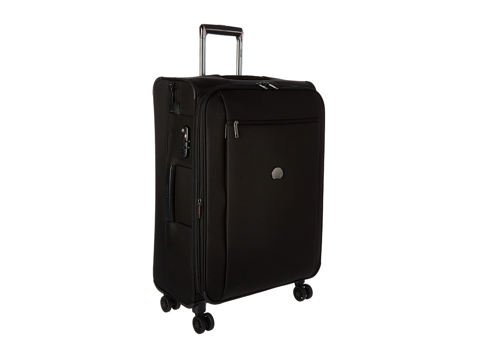 Delsey - Montmartre 25 Expandable Spinner Suiter Trolley (Black) Luggage