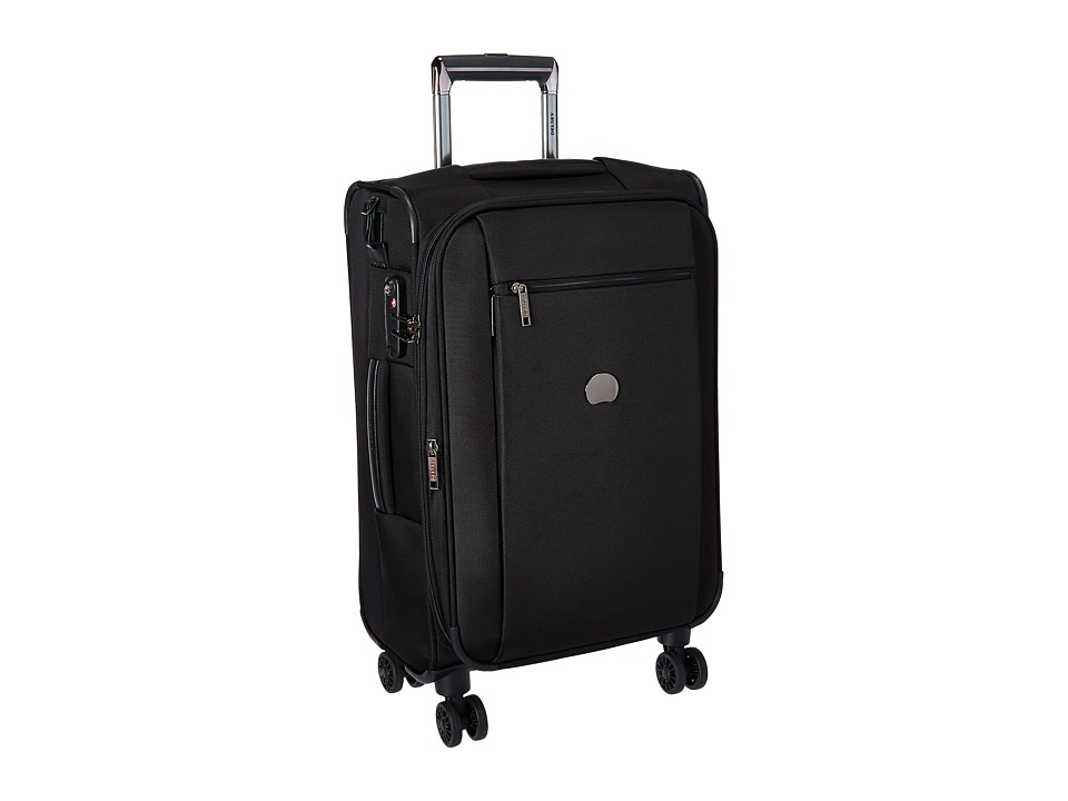 Delsey Montmartre Carry-On Expandable Spinner Trolley (Black) Luggage