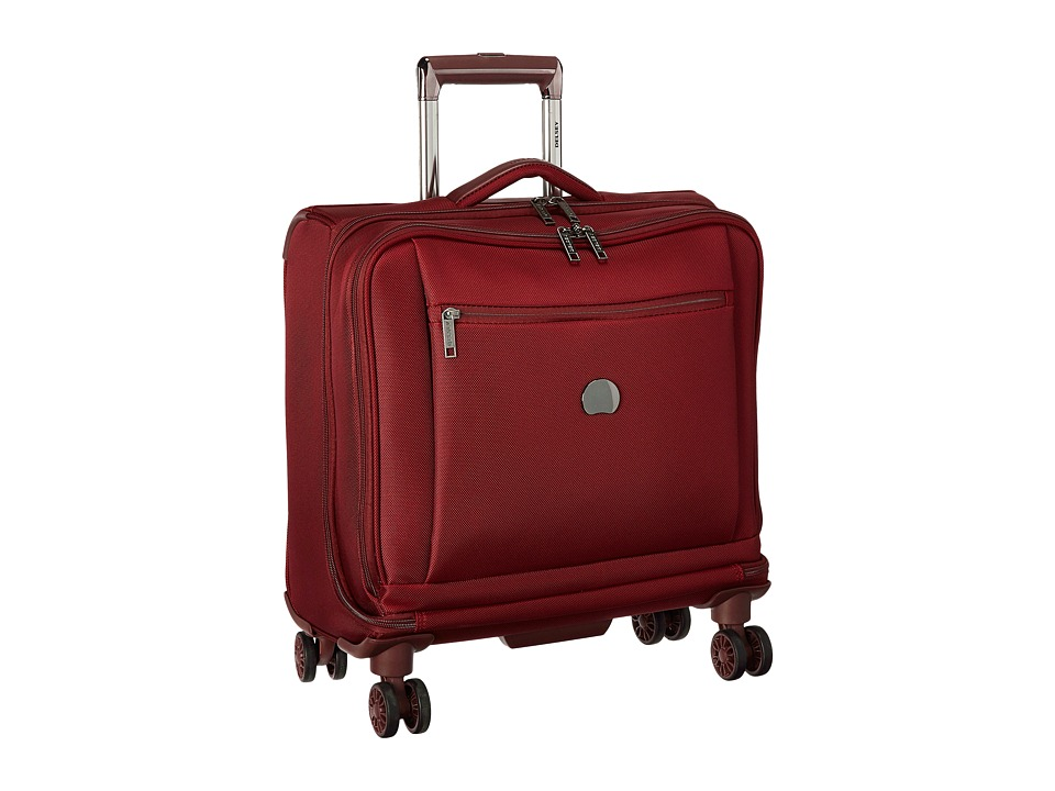 Delsey Montmartre Spinner Trolley Tote (Bordeaux) Luggage