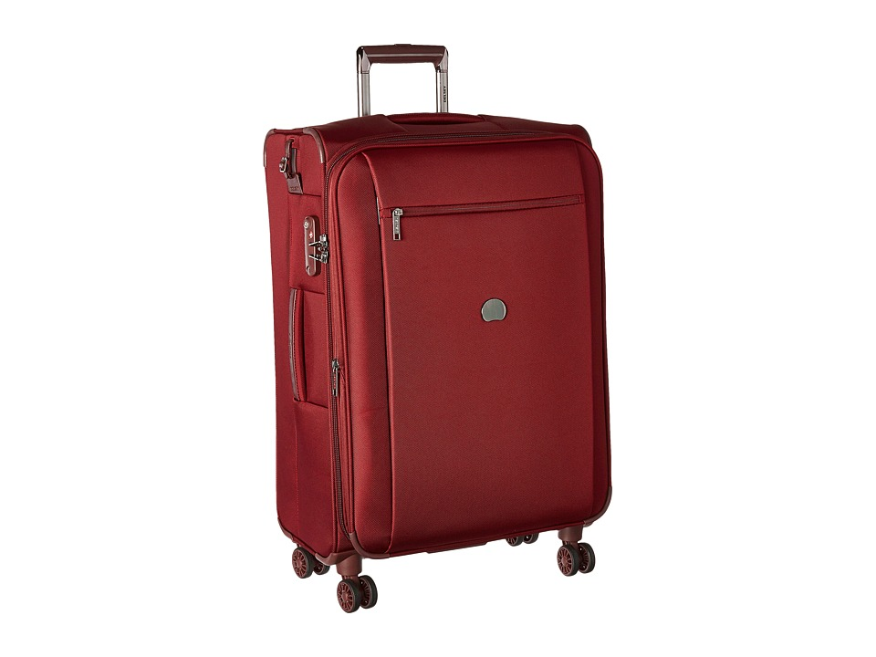 Delsey - Montmartre 25 Expandable Spinner Suiter Trolley (Bordeaux) Luggage