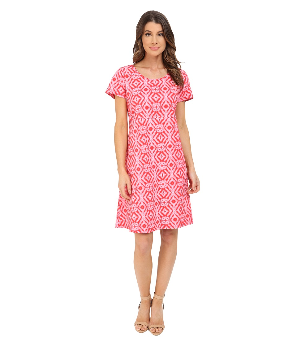 Fresh Produce Shibori Sadie Dress Barn Red Womens Dress