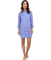 LAUREN by Ralph Lauren - Sateen 3/4 Sleeve Sleepshirt
