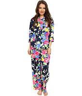 LAUREN by Ralph Lauren - Petite Sateen 3/4 Sleeve Pajama
