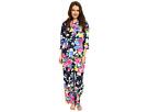 LAUREN Ralph Lauren Petite Sateen 3/4 Sleeve Pajama