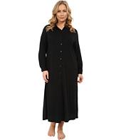LAUREN Ralph Lauren - Plus Size 3/4 Sleeve Maxi Sleepshirt