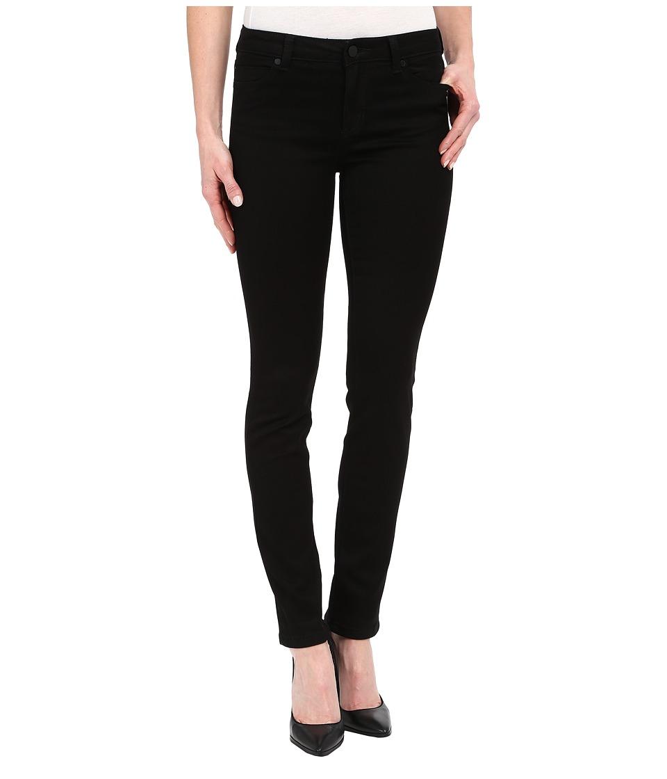 Liverpool Abby Skinny Jeans in Overdye Black Overdye Black Womens Jeans