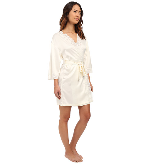 lauren ralph lauren satin wrap robe. Black Bedroom Furniture Sets. Home Design Ideas