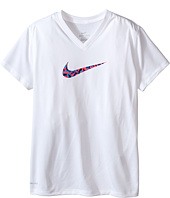 Nike Kids - Legend Short Sleeve Top Fill V-Neck (Little Kids/Big Kids)
