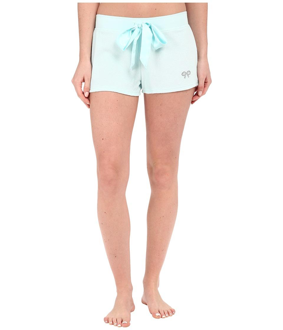 Betsey Johnson Baby Terry Shorts Betty Blue Womens Pajama