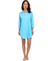 LAUREN Ralph Lauren - Sateen 3/4 Sleeve Sleepshirt