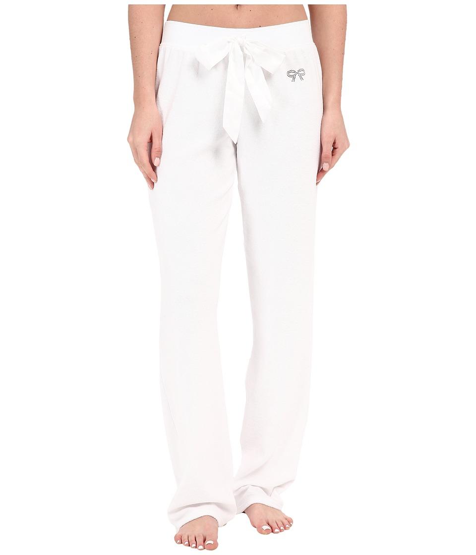Betsey Johnson Baby Terry Pants Sonic White Womens Pajama