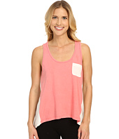 Jane & Bleecker - Vintage Jersey High-Low Stripe Back Tank Top 3501109