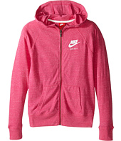 Nike Kids - Gym Vintage Full Zip Hoodie (Little Kids/Big Kids)