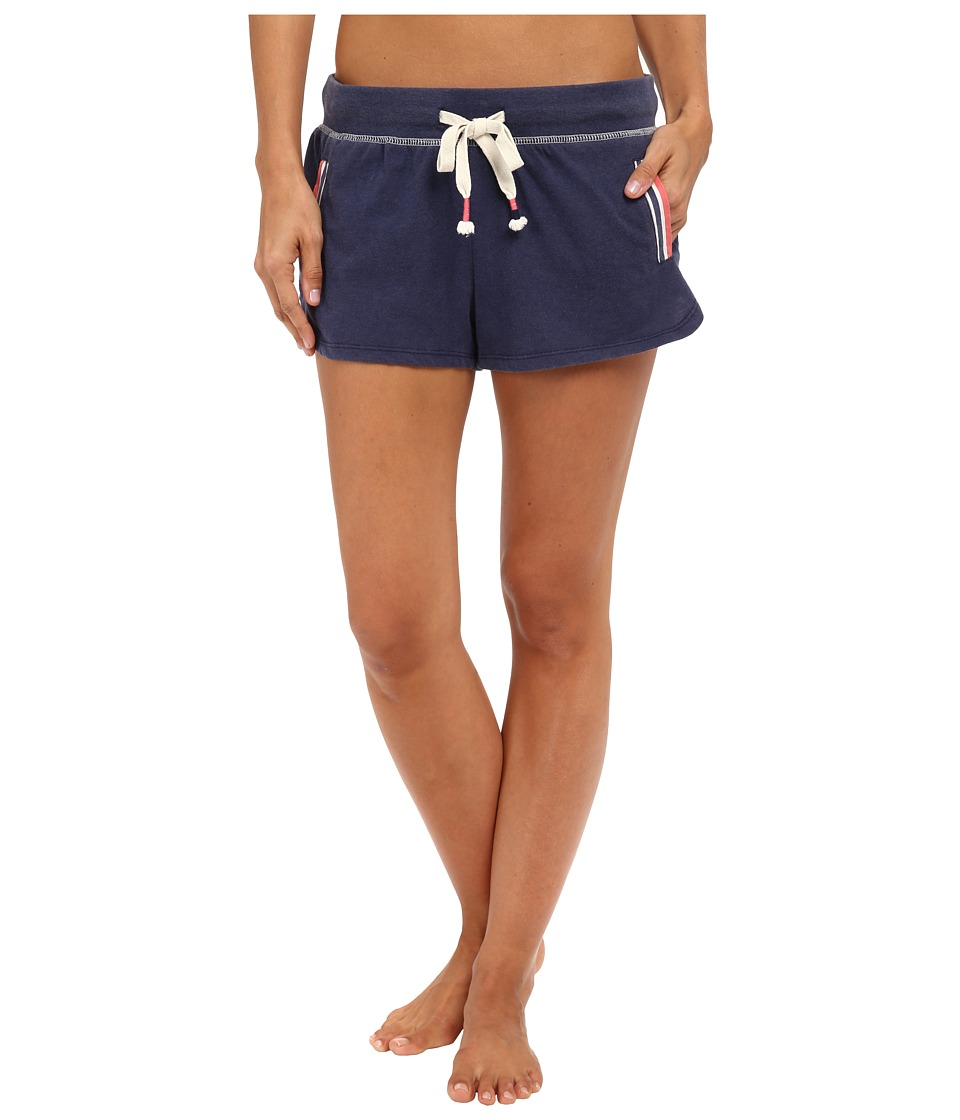 Jane amp Bleecker Vintage Jersey Shorts 3571109 Navy Womens Pajama