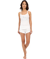 Betsey Johnson - Bridal Rib Graphic Short Set