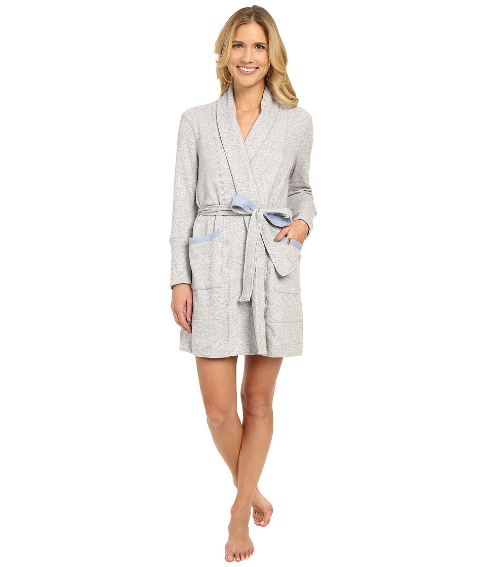 Jane amp Bleecker French Terry Robe 3541108 Grey Womens Robe