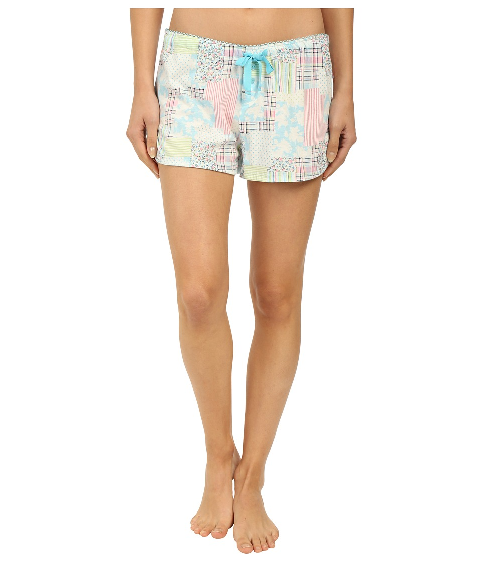 Jane amp Bleecker Jersey Shorts 3561101 Patchwork Womens Pajama