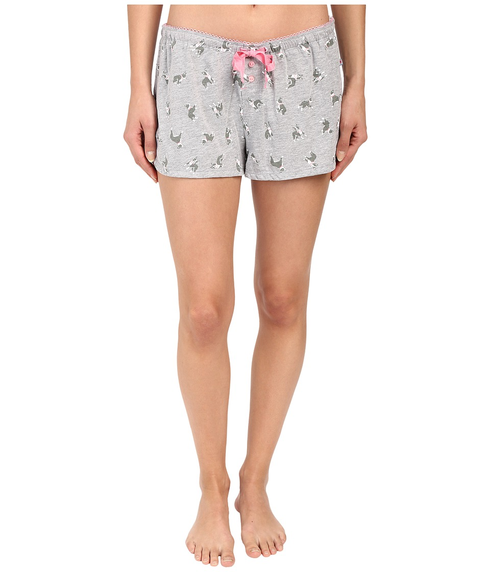 Jane amp Bleecker Jersey Shorts 3561101 Terrier Womens Pajama