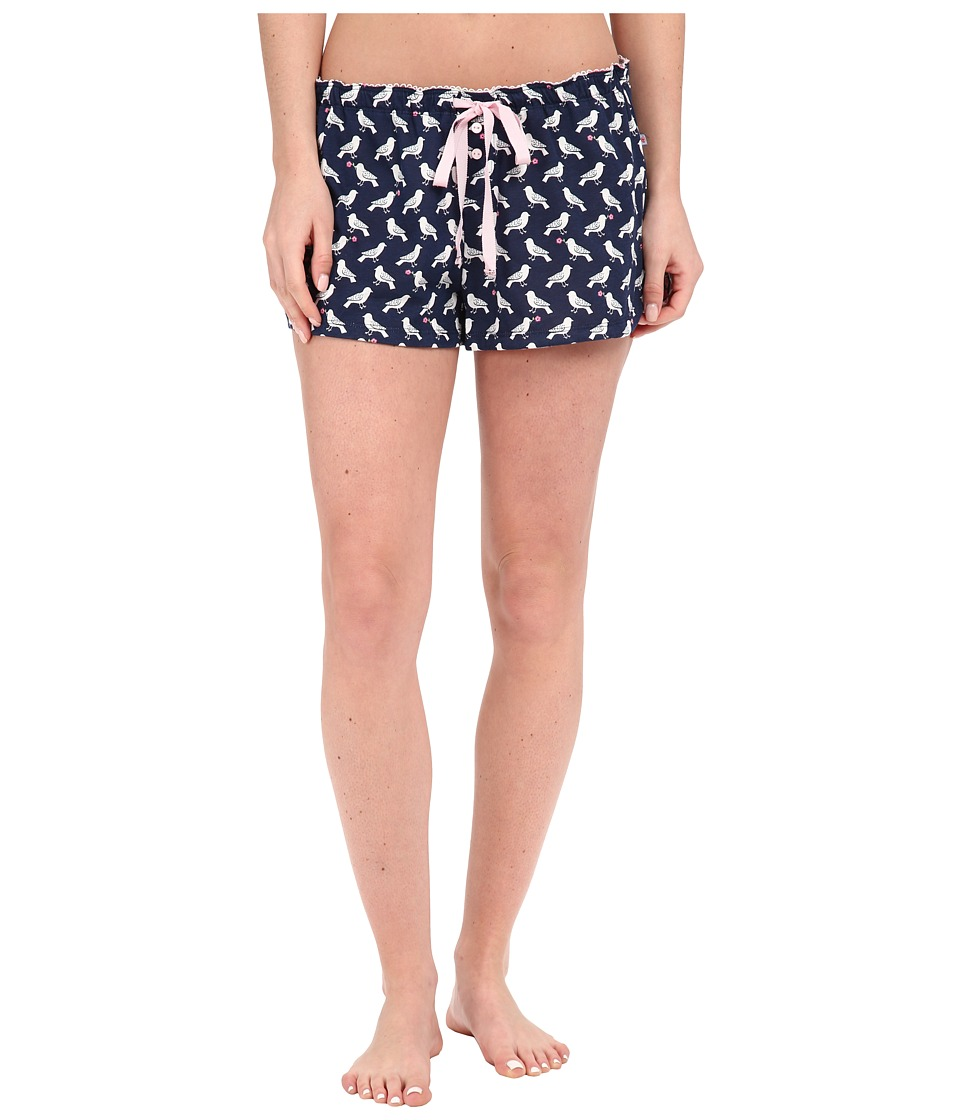 Jane amp Bleecker Jersey Shorts 3561101 Birds Womens Pajama