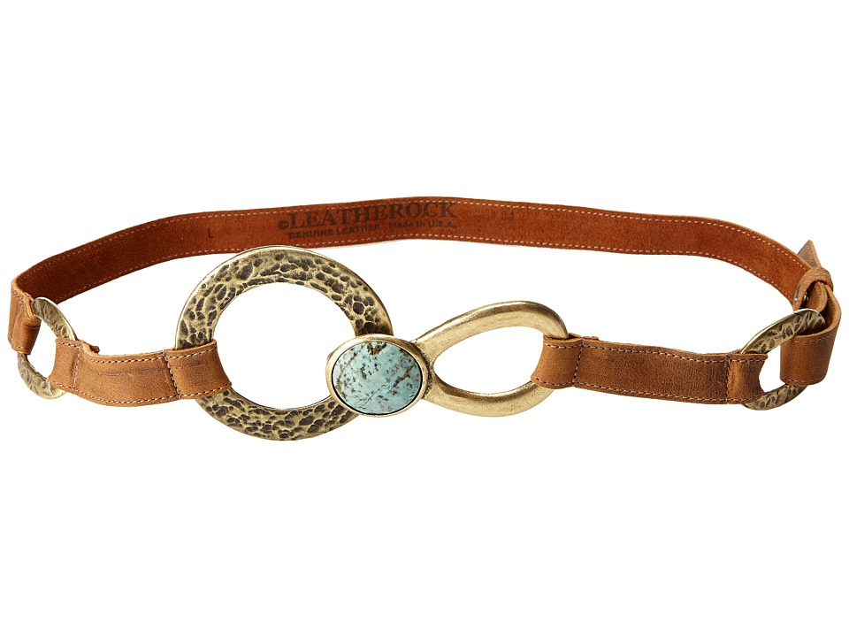 Leatherock 1015 Tobacco Womens Belts