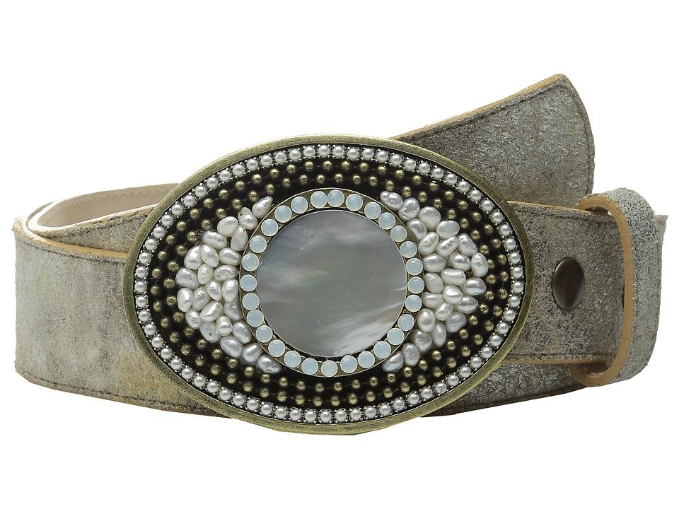 Leatherock 1569 Silver/Gold Womens Belts