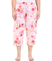 Jockey - Plus Size Print Cotton Capris