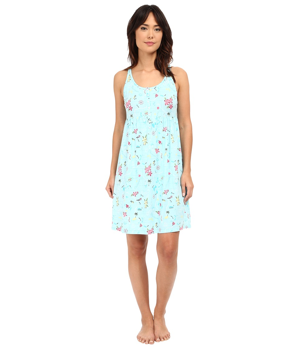 Jockey - Printed Cotton Chemise (Vacation) Women's Pajama