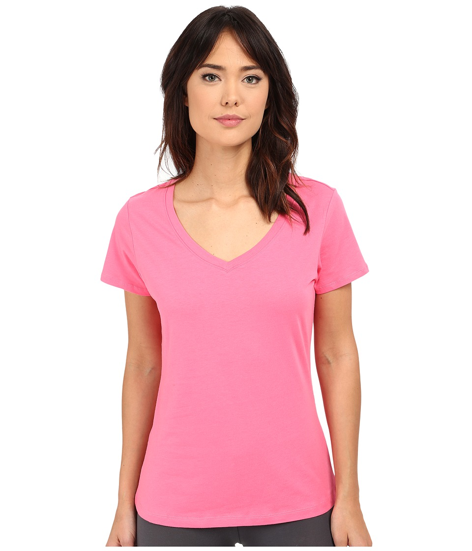 Jockey Jockey Cotton Essentials V Neck Tee Coral Womens Pajama