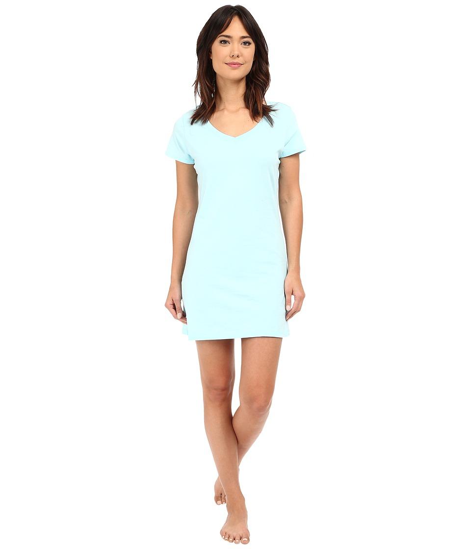 Jockey Jockey Cotton Essentials Sleepshirt Surf Blue Womens Pajama