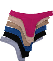 OnGossamer - Hip G Thong 6-Pair Pack