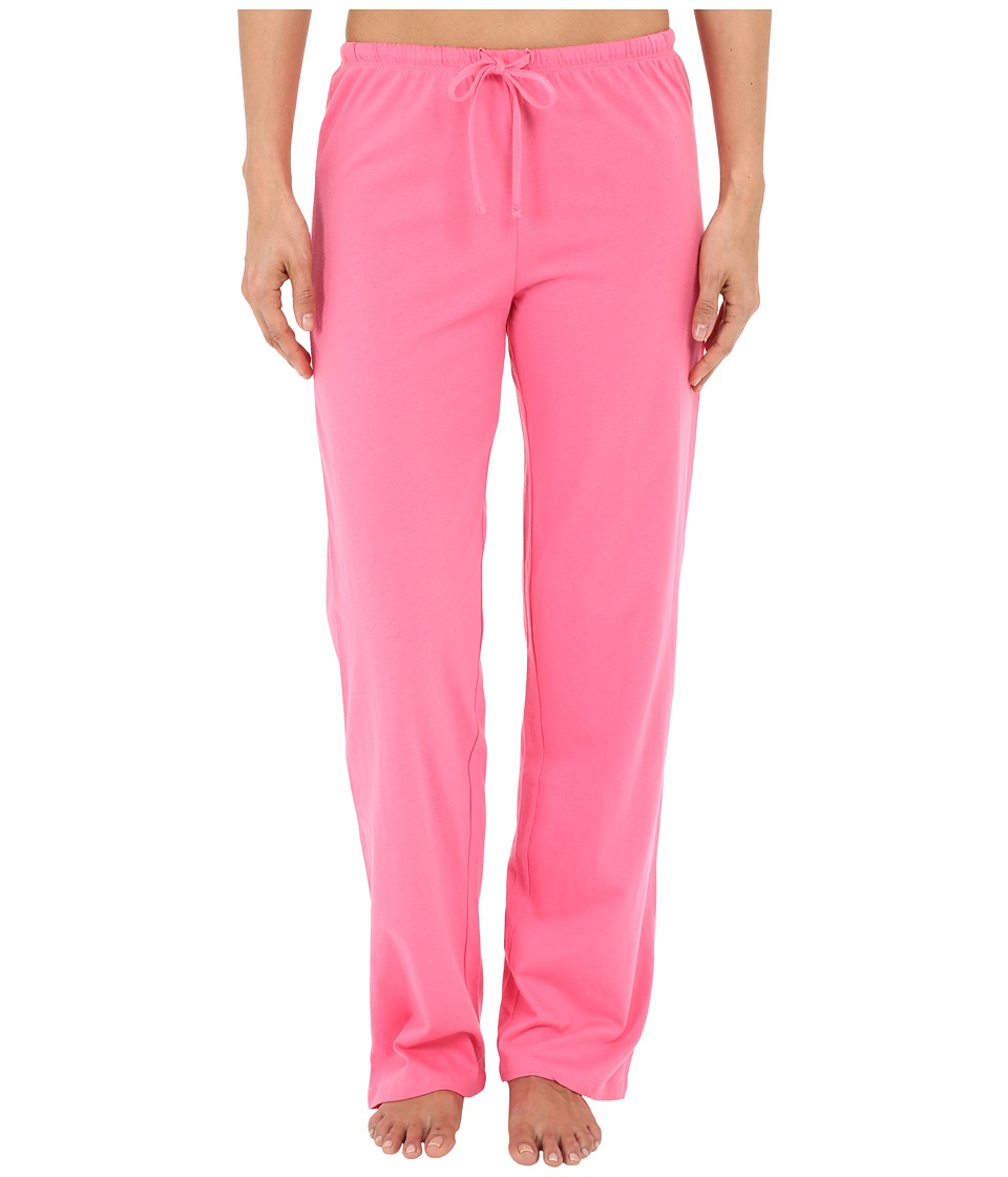Jockey Jockey Cotton Essentials Long Pajama Pant Coral Womens Pajama