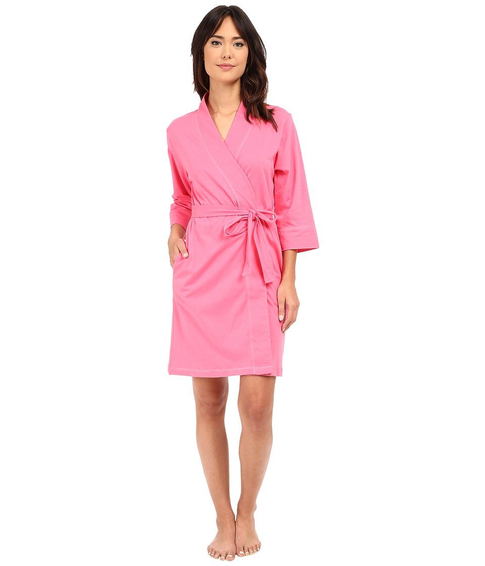 Jockey Jockey Cotton Essentials Robe Coral Womens Robe