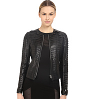 Philipp Plein - Layered Element Leather Jacket