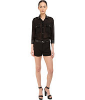 Philipp Plein - You Are Here Sheer Romper