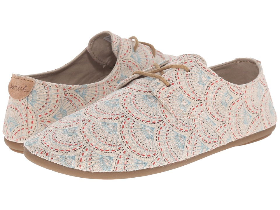 Sanuk Bianca Prints (Ivory Sunrise) Women