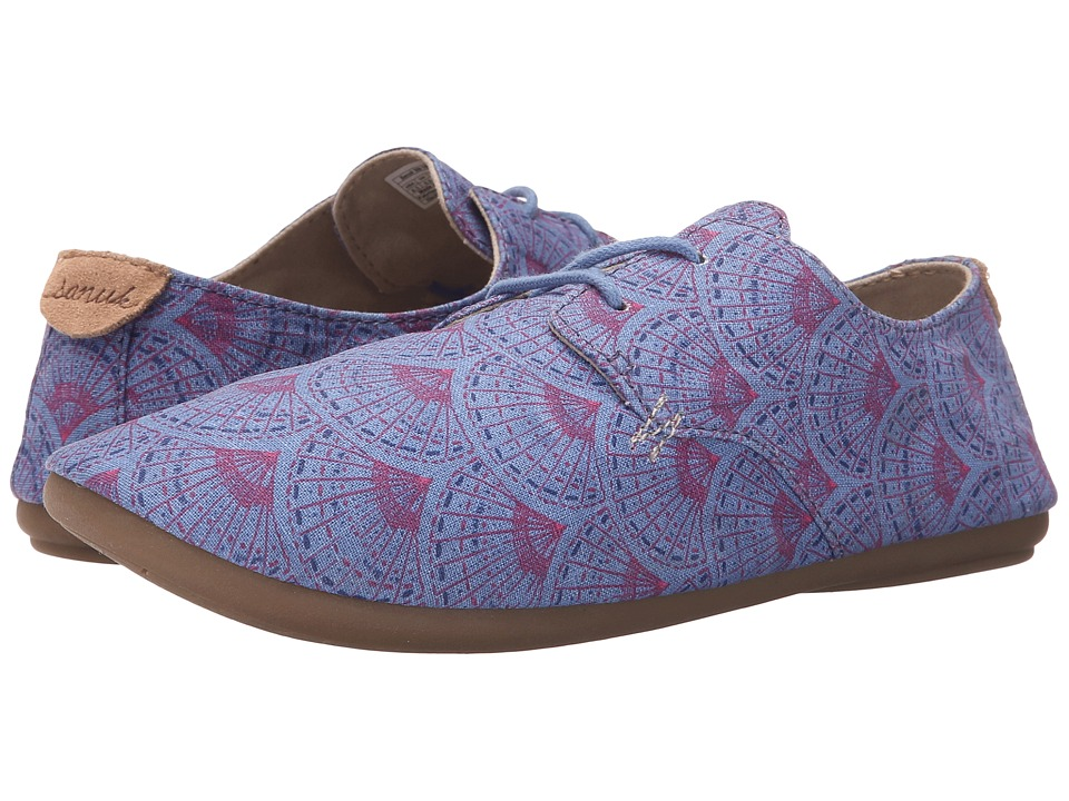 Sanuk Bianca Prints (Iris Sunrise) Women