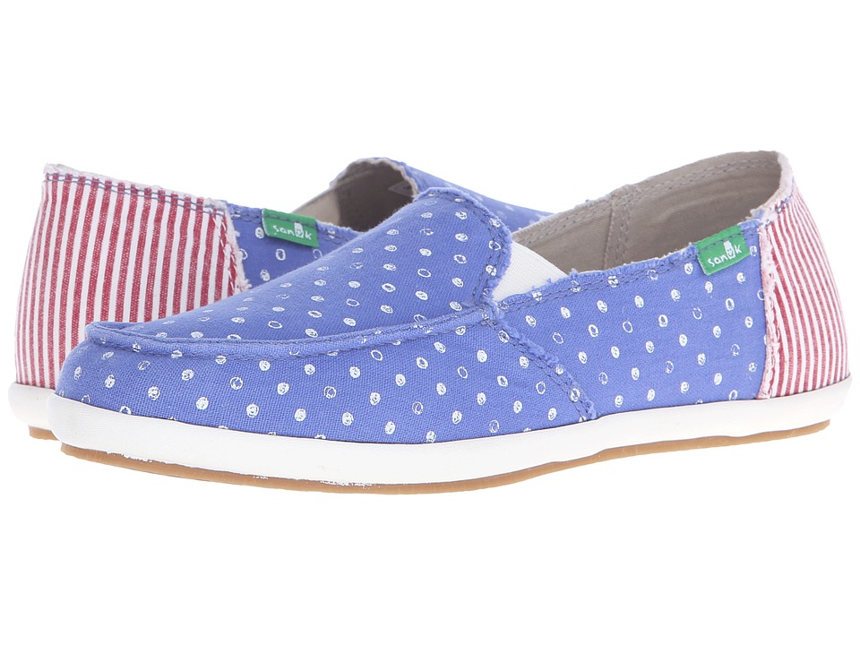 Sanuk - Overboard Patriot (America Dots/Stripes) Women