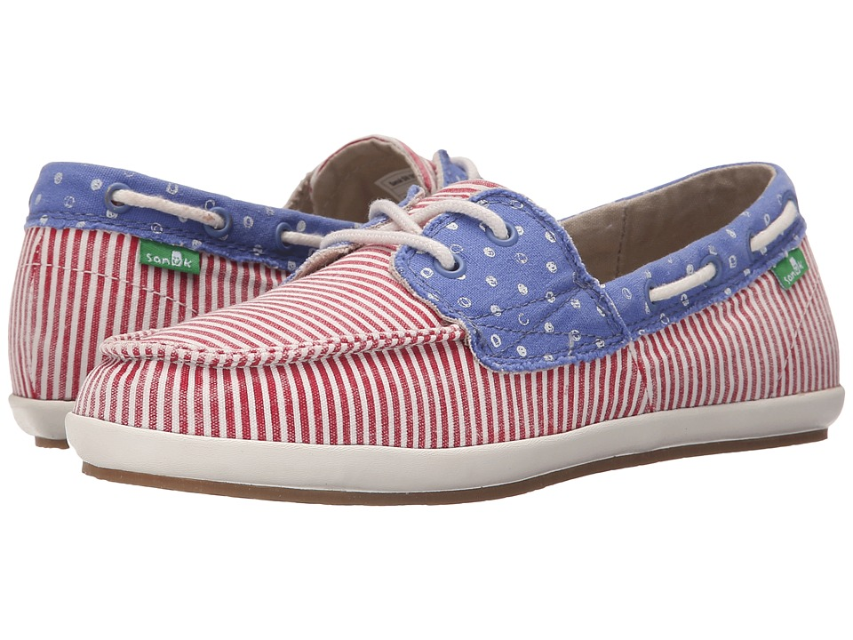 Sanuk - Sailaway 2 Patriot (America Dots/Stripes) Women