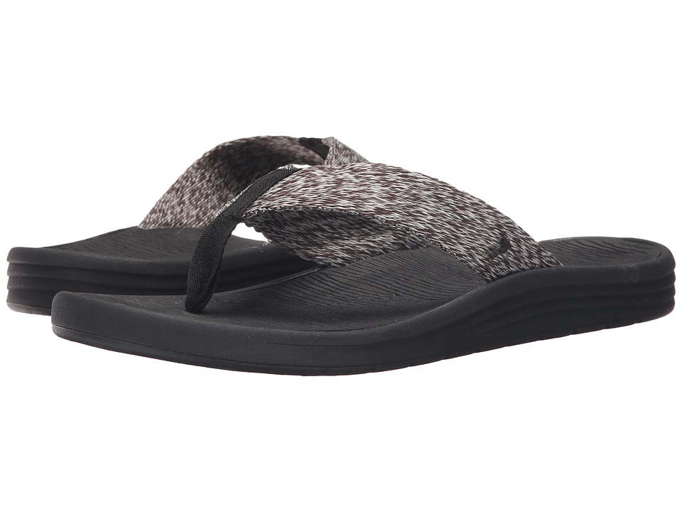 Sanuk - Compass Webbing (Black/Charcoal/Grey) Men
