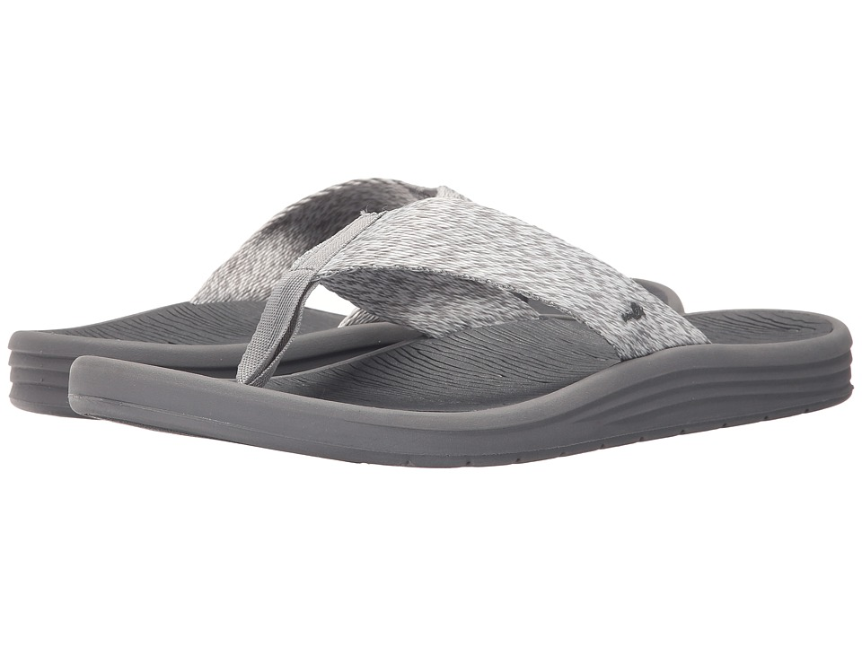 Sanuk - Compass Webbing (Grey/Charcoal) Men