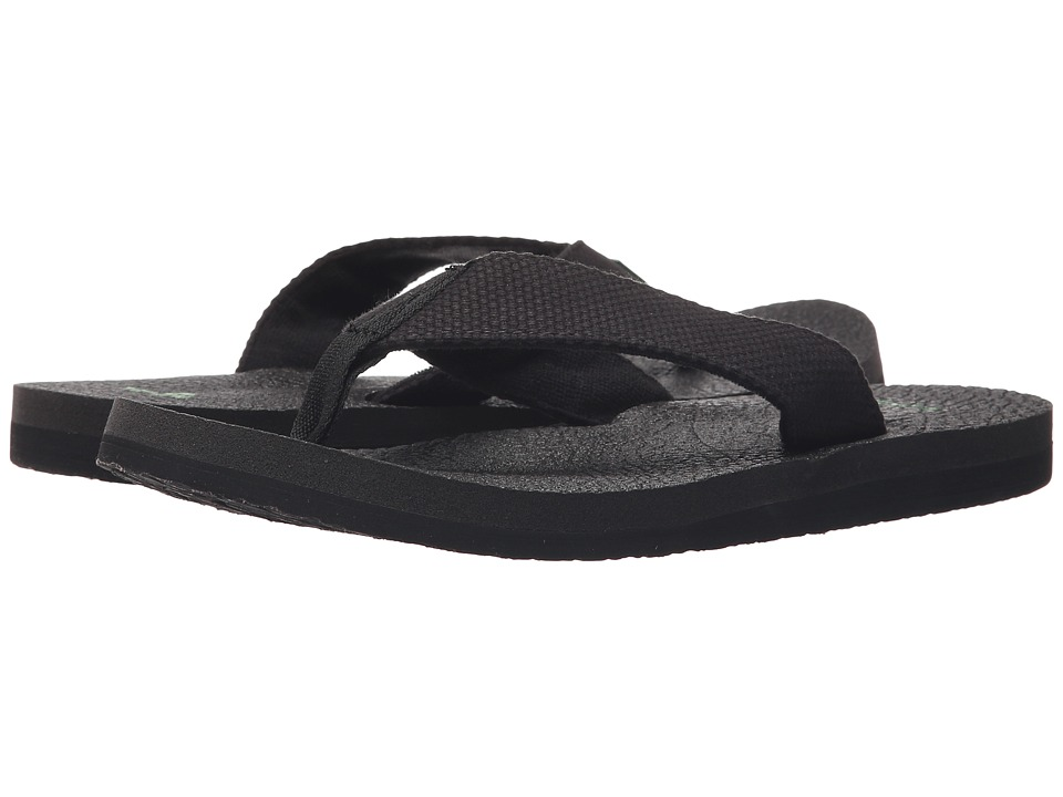 Sanuk - Yogi 4 (Blackout) Men's Sandals