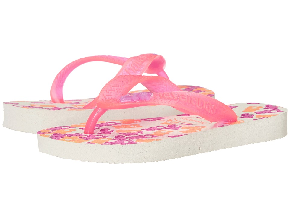 Havaianas Kids Fantasy Toddler/Little Kid/Big Kid White/Pink Girls Shoes